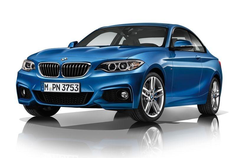 Передний бампер «М» для BMW F22 2-серия