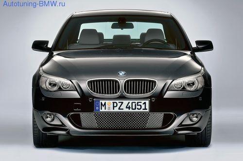 Передний бампер в М-стиле для BMW E60 5-серия