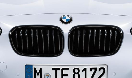 Решетки радиатора для BMW F20 LCI 1-серия