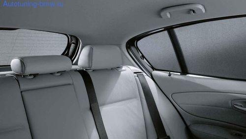 Солнцезащитные шторы боковых стекол BMW E87 1-серия