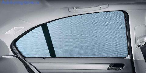 Солнцезащитные шторы боковых стекол для BMW F20 1-серия