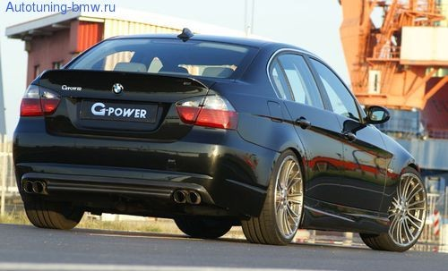 Спойлер G-Power для BMW E90 3-серия