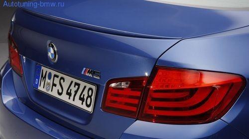 Спойлер в М-стиле для BMW F10 5-серия