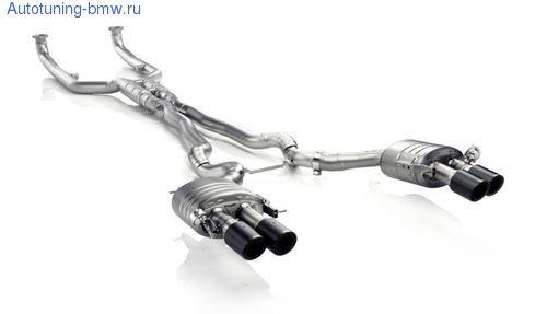 Выхлопная система Akrapovic Evolution для BMW M6 F12/F13