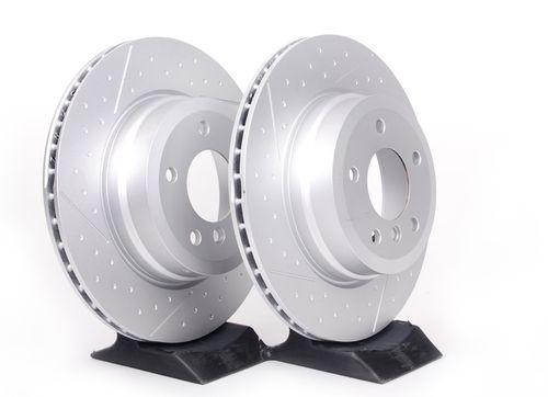 Задние тормозные диски Performance для BMW E82/E88 1-серия