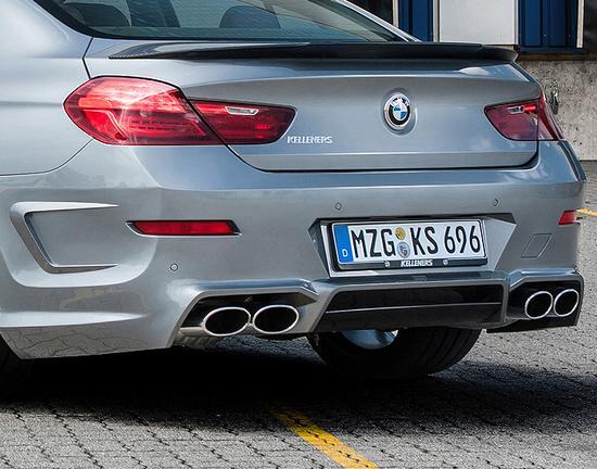Задний бампер Kelleners для BMW F13 6-серия
