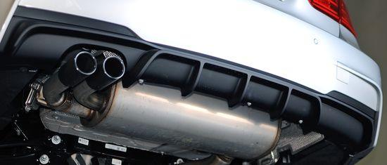 Диффузор заднего бампера M Performance Bmw F30 187 51192291418