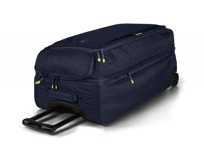 3e6e37cd9e3d Описание Туристическая сумка на колесиках BMW Active Travel Bag Trolley  Blue/Lime 2019