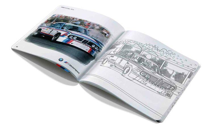 BMW M Motorsport Книжка-раскраска » 80282461140