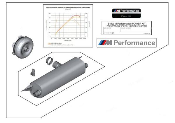 дооснащение M Performance Power Sound Kit для Bmw G30 11122444214