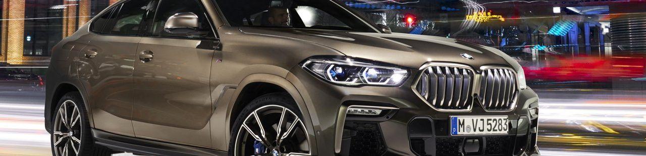 Тюнинг BMW X6 G06 — Магазин тюнинга Autotuning-BMW.