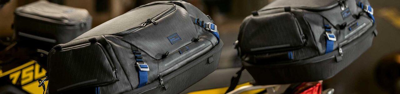 Сумки BMW Motorrad на хвост мотоцикла · Магазин тюнинга Autotuning-BMW.