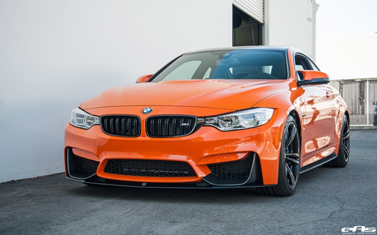 BMW F82 M4 Fire Orange II