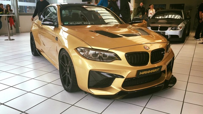 BMW M2 Manhart Racing