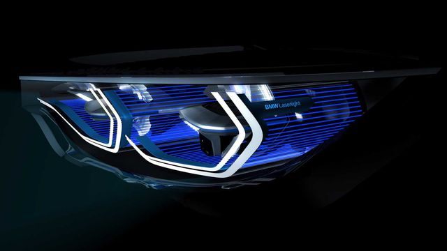 Лазерные фары BMW Iconic Lights